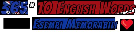 365*10 English Words / Scopri il metodo degli esempi memorabili