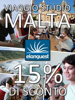 Viaggio Studio a Malta: 15% di sconto per gli studenti italiani!