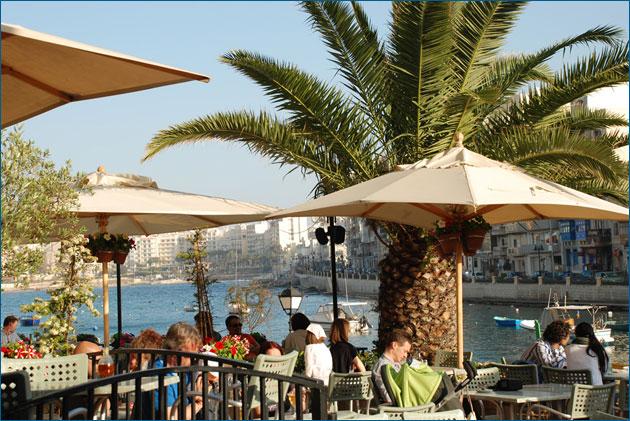 Tipici cafe a Malta