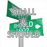 shall e should