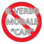 Il verbo modale can