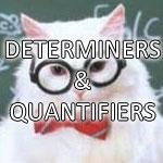 Determiners & Quantifiers