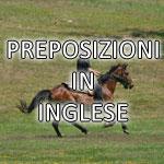 preposizioni inglese