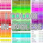 colori inglese